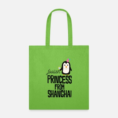 Travelling foolish Princess from Shanghai - Tote Bag
