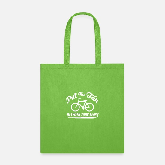 Fungal Bags & Backpacks - Put The Fun - Tote Bag lime green
