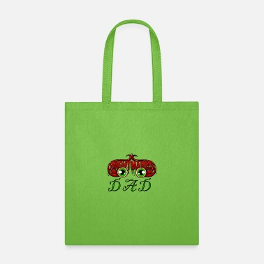 Horor father of nightmares horor with red pretty gift - Tote Bag