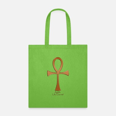 Ancient Egyptian ANKH Copper - Tote Bag