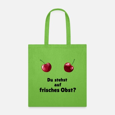Fruits Kirschen / Cherry breast - frisches Obst - Tote Bag