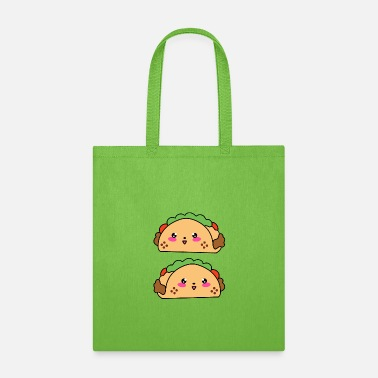 Cute funny yummy kawaii burritos. Tortilla wraps. - Tote Bag