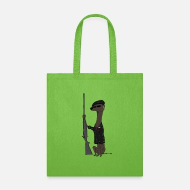 Black Panther Party Dog of the Black Panther Party (transparent) - Tote Bag
