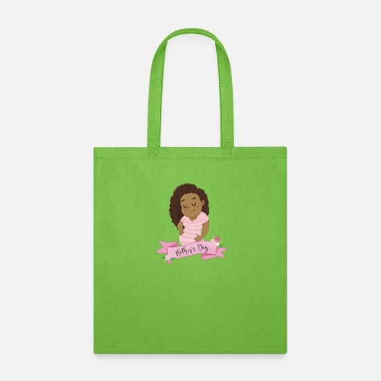 Day Bags & Backpacks - Mothers Day - Tote Bag lime green