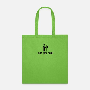 Sir Police Sir Yes Sir - Tote Bag