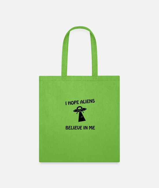 Beam Bags & Backpacks - UFO - Tote Bag lime green