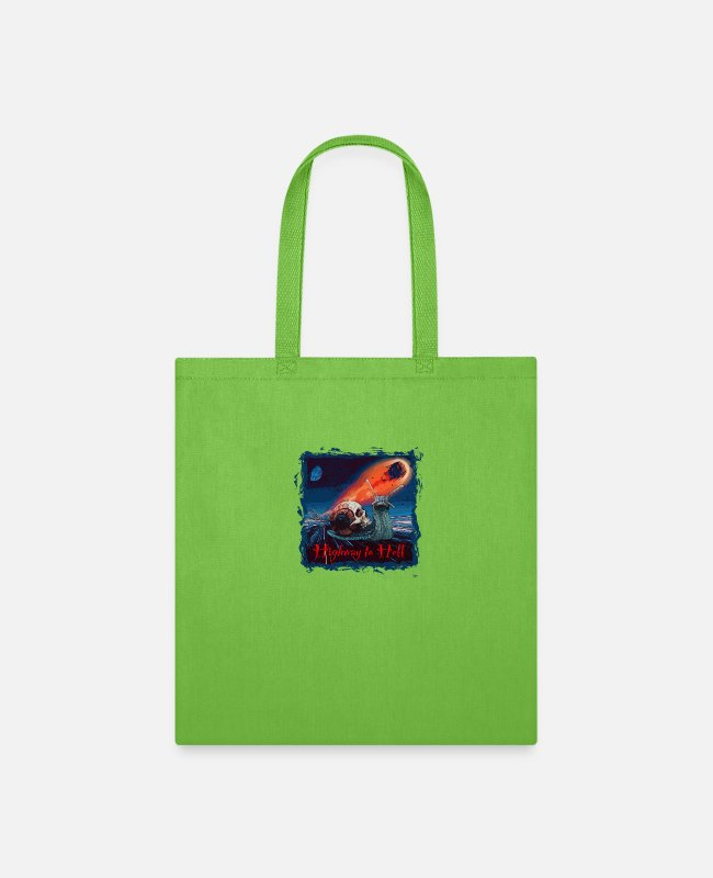 Hair Bags & Backpacks - Highway - Tote Bag lime green