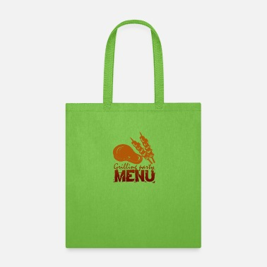 Menu GRILLING MENU - Tote Bag