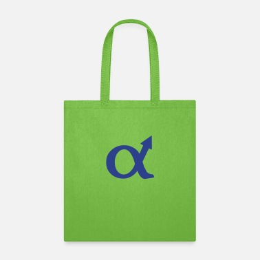 Cool alphamale symbol - Tote Bag