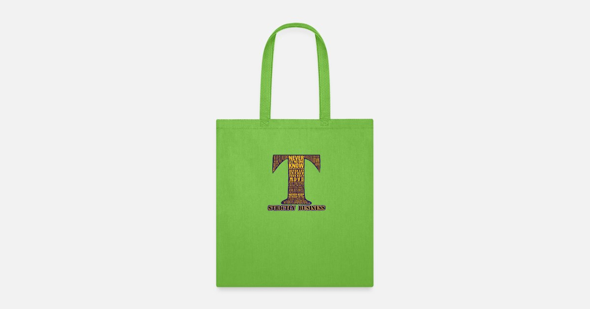 10 CRACK COMMANDMENTS STRICTLY BUSINESS Tote Bag | Spreadshirt