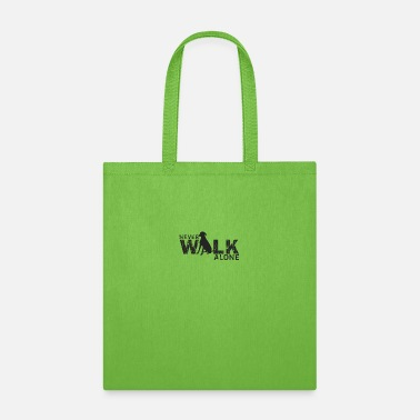 Obedience Never Walk Alone - Dogs - D3 Designs - Tote Bag
