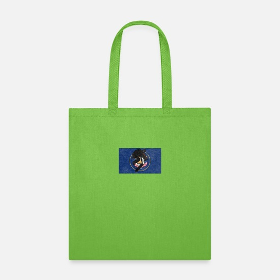 Skateboard Bags & Backpacks - Utah State Skate Gift Skateboarding USA Skater - Tote Bag lime green