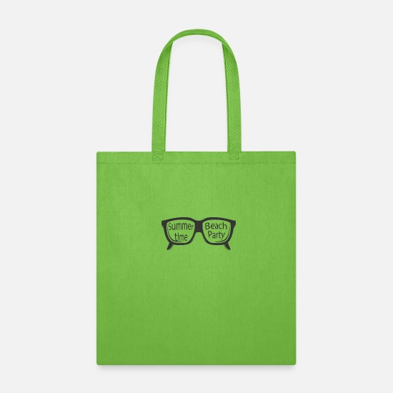 Summer Holidays Bags & Backpacks - summerfeelings summer sun beach holiday fun - Tote Bag lime green