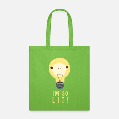 Popular I'm so lit - Cute Light Bulb - Tote Bag