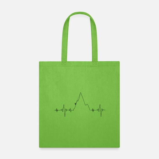 Sport Bags & Backpacks - Climbing - Tote Bag lime green