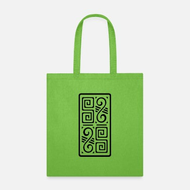 Mayan Designs Aztec Hieroglyphics Designs - Tote Bag
