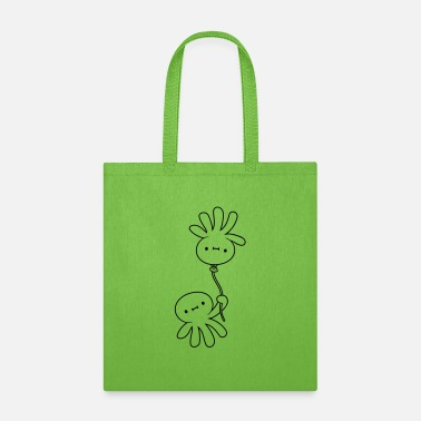 Cuttlefish Cuttlefish with balloon - Tote Bag