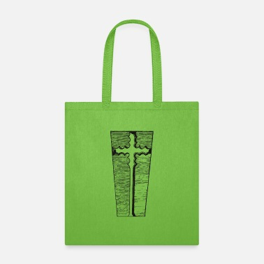 Holy Cross Abstract holy cross - Tote Bag
