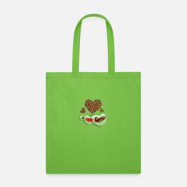 I Love Coffee - Tote Bag