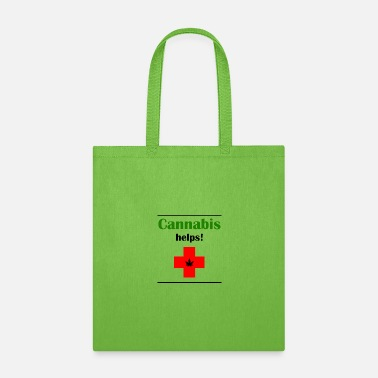 Prohibition Cannabis helps! - Tote Bag