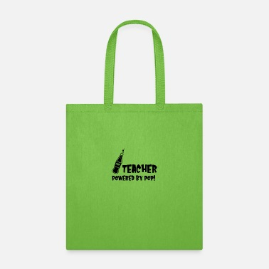 Chic TEACHER POWERED BY POP - Tote Bag