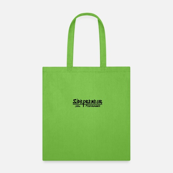Office Bags & Backpacks - Sidepreneur Performance - Tote Bag lime green