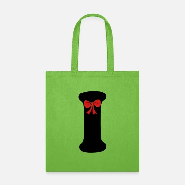 Hepatitis B-liver Cancer-hbv-breast Cancer ❤✔Alphabet I with a Red Ribbon✔❤ - Tote Bag