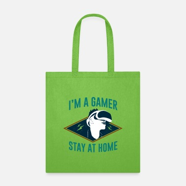 Homesickness I'm Gamer Stay at Home - Tote Bag