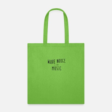 Noise Wave noise coast island music boat Present - Tote Bag