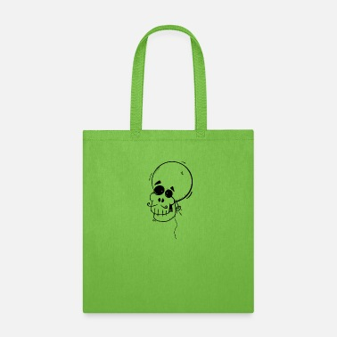 Mariachi Balloon skull - Tote Bag