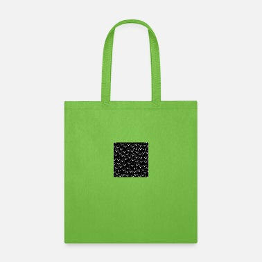 Gate October Halloween halloween ghost doodle Black - Tote Bag