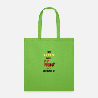 Tagalog chicks.cocks.any questions...in tagalog - Tote Bag