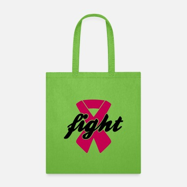 Breast Cancer Month Fight - Breast Cancer, Pink Ribbon - Tote Bag