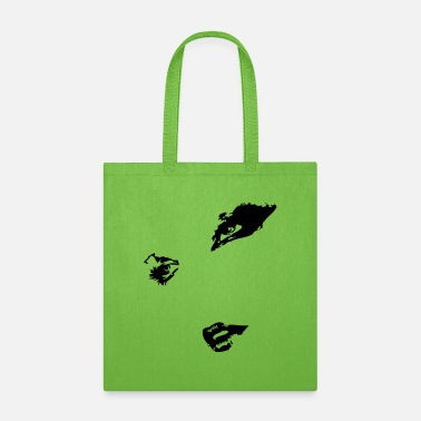 Lipstick girl face - Tote Bag