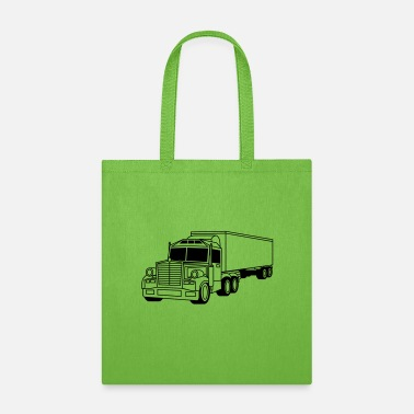Racing Car truck eat sleep drive repeat eat sleep repeat truc - Tote Bag