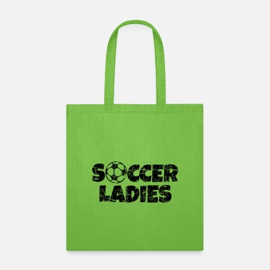 Womens Soccer Soccer Ladies Women's Soccer Design - Tote Bag