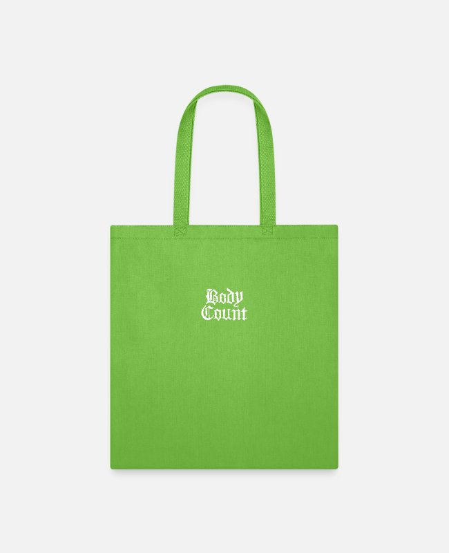 New Bags & Backpacks - BODY COUNT new - Tote Bag lime green