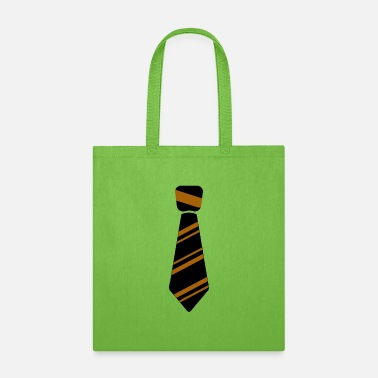 Neck Tie Neck Tie brown - Tote Bag
