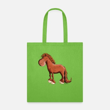 Riding Icelandic Chestnut Horse - Horses - Gift - Fun - Tote Bag