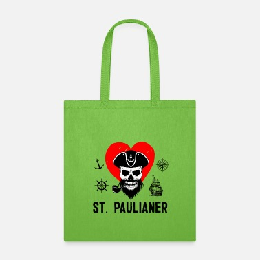 German St.Pauli Paulianer Hamburg Hamburger T-Shirt - Tote Bag