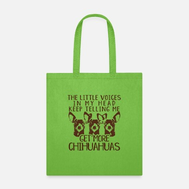 Head Funny Chihuahua Lovers - Tote Bag