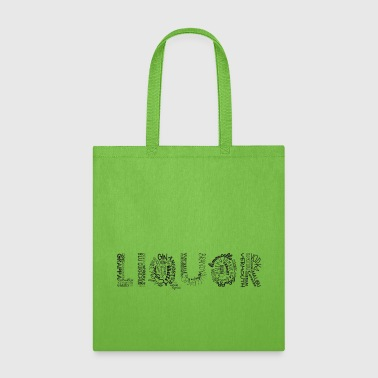 Liquor Tag Cloud - Tote Bag