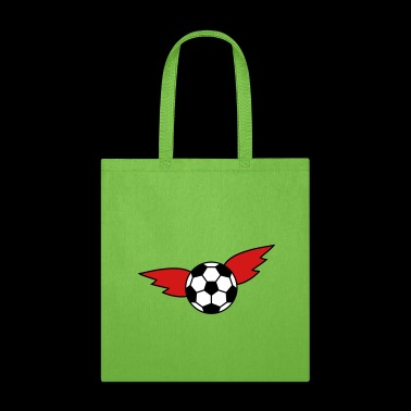 Soccer wing black red gold championship Germany - Tote Bag
