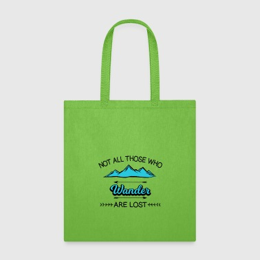 Travel Adventure Backpacking Camping Wander - Tote Bag