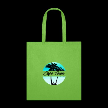Cape Town South Africa Souvenir Palm Trees Vacation Travel Design - Tote Bag