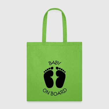 Baby On Board 02 - Tote Bag