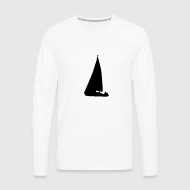 Sailboat - Men's Premium Long Sleeve T-Shirt