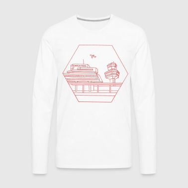 Airport Tegel in Berlin - Men's Premium Long Sleeve T-Shirt