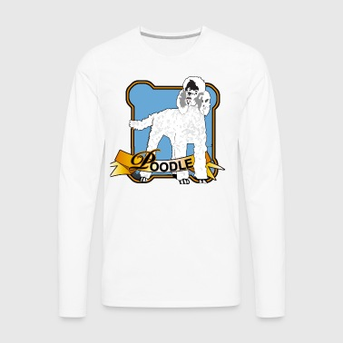 Poodle - Men's Premium Long Sleeve T-Shirt