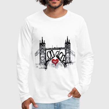 London with love - Men's Premium Long Sleeve T-Shirt